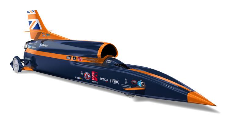 В Британии готовятся выпустить сверхзвуковой автомобиль, способный разогнаться до 1600 км/час