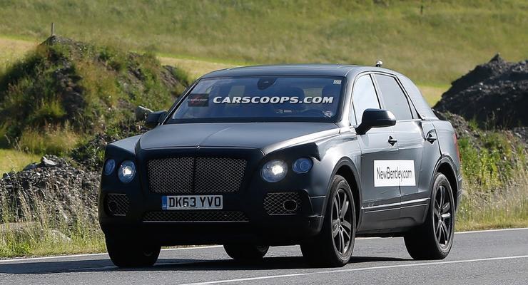Первый в истории внедорожник Bentley: названа стартовая цена (фото)
