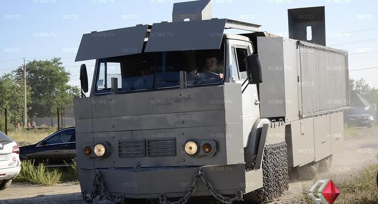 Батальон Николаев ездит на броне-Камазах в духе фильма Mad Max (фото)