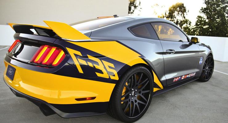 Американцы сделали «истребитель» из нового Ford Mustang (фото)