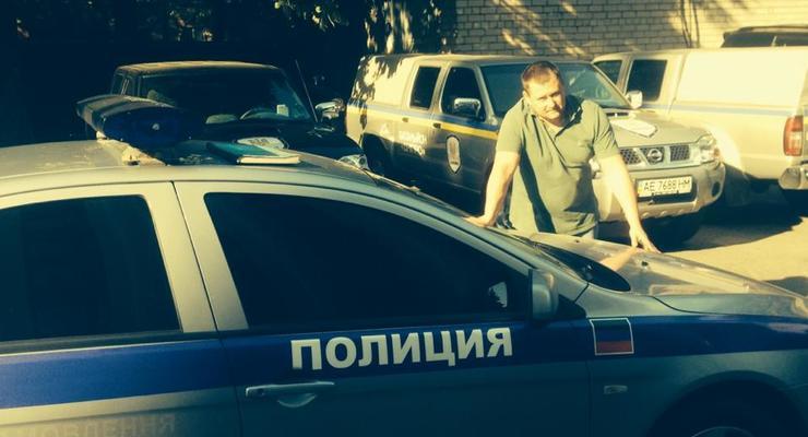 Разведчики захватили «полицейский» Mitsubishi из Донецка (фото)