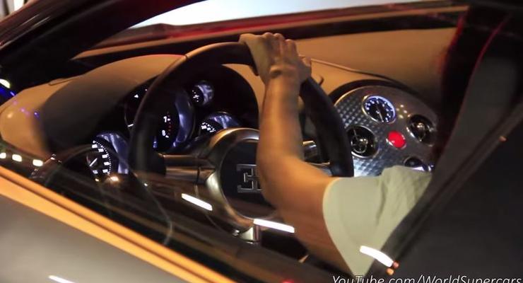 Россиянка в Монако поцарапала свой Bugatti за $2 миллиона (видео)