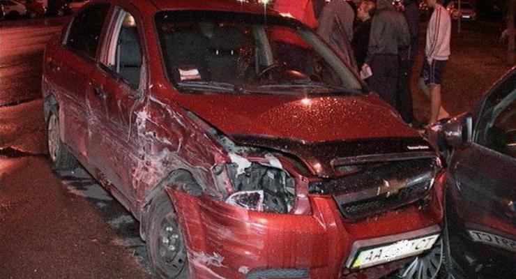Киевляне хотели устроить самосуд над водителем, разбившим шесть машин