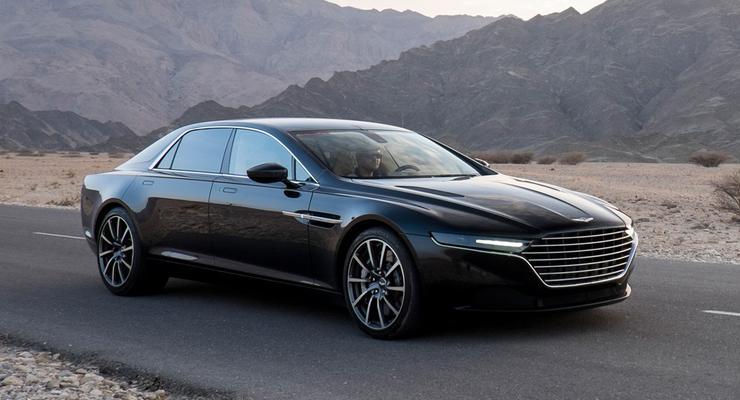 Aston Martin рассекретил самый роскошный седан в своей истории (фото)