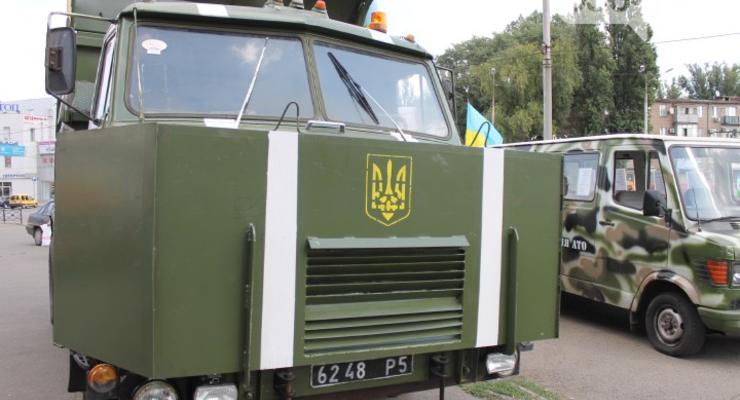 Житель Кривого Рога обменял квартиру на бронированный грузовик (фото)