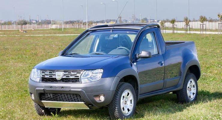 Компания Dacia запустила в серию пикап на базе Дастера (фото)