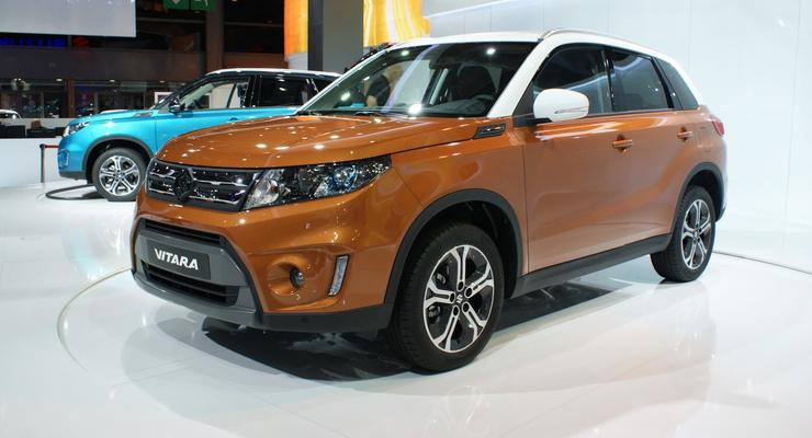 В Украине продажи нового Suzuki Vitara стартуют весной 2015 года