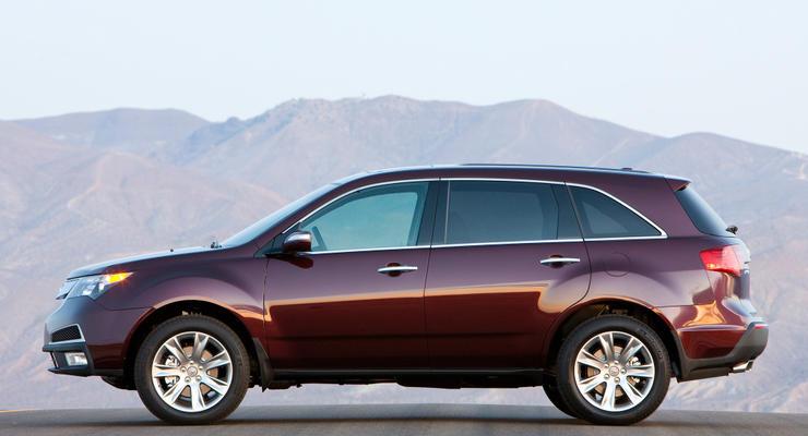 Компания Acura поставит полный привод на все свои машины