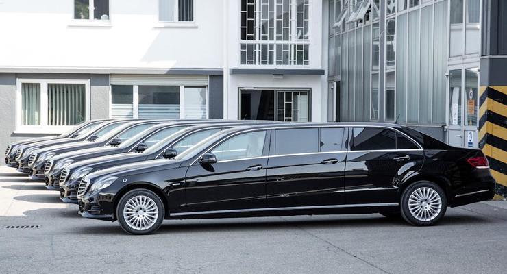 Немецкое ателье Binz создало шестидверный Mercedes-Benz (фото)