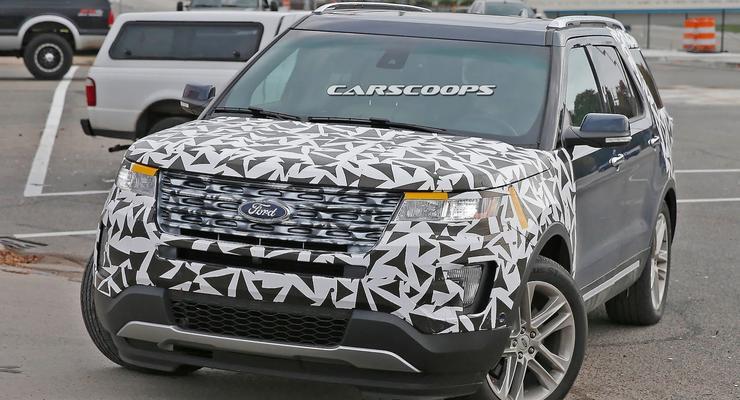 Компания Ford вывела на тесты новый Explorer (фото)