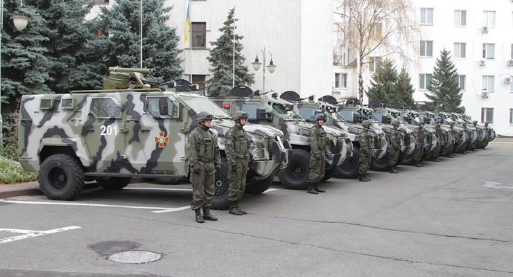 """""""Спартанцы"""" из Украины. Нацгвардия получила новые броневики (фото)"""