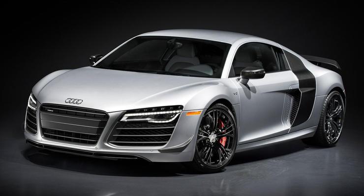 Audi выпустила спецверсию R8 к автосалону в Лос-Анжелесе (фото)
