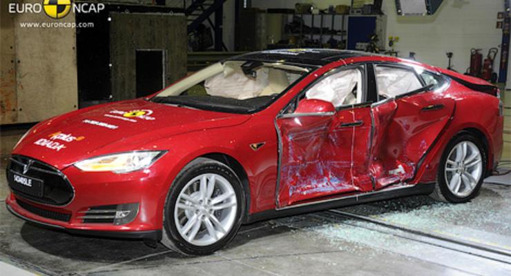 В Euro NCAP на краш-тестах разбили Теслу и еще пять авто (видео)