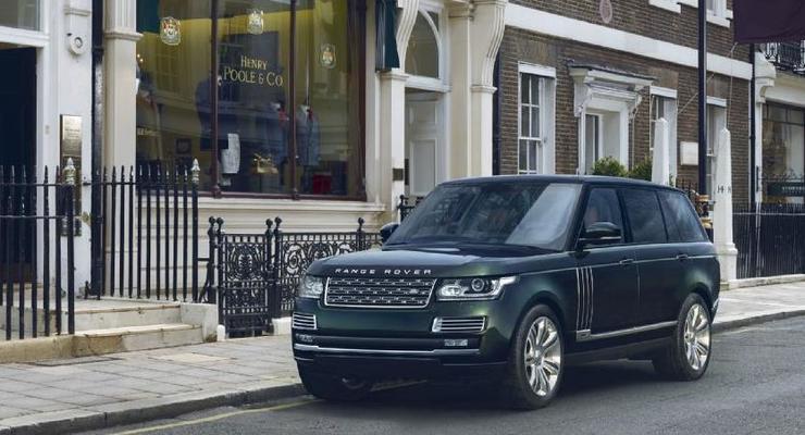 Ружья в багажнике: Land Rover представил самую дорогую модель