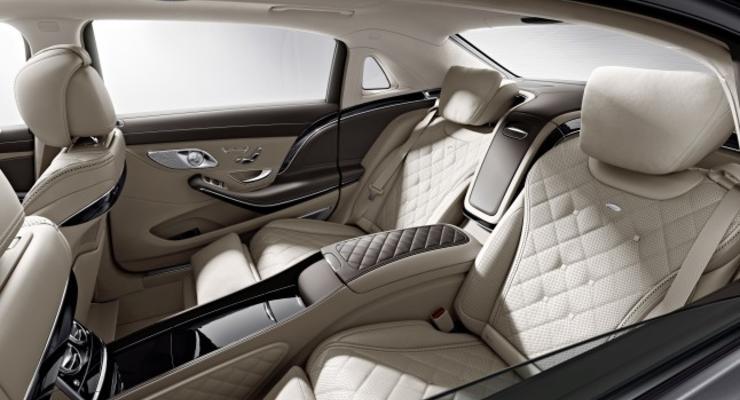Компания Mercedes-Benz показала интерьер возрожденного Maybach