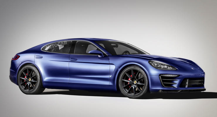 Обновленную Porsche Panamera представят в 2016 году