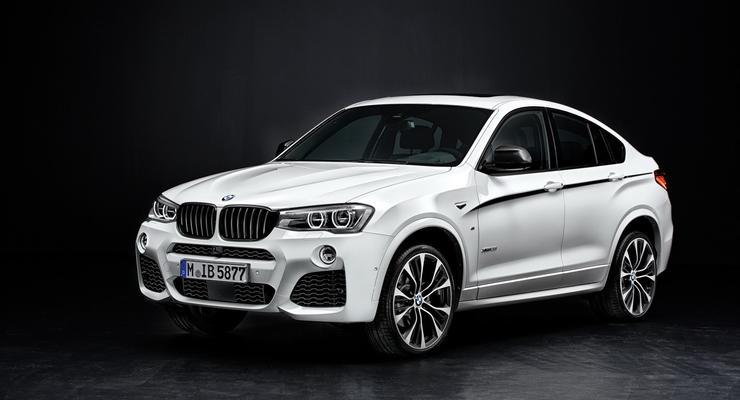 BMW представит доработанный Х4