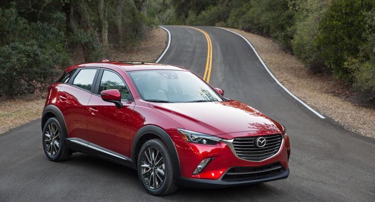 Mazda представила в США свой самый маленький кроссовер (фото)