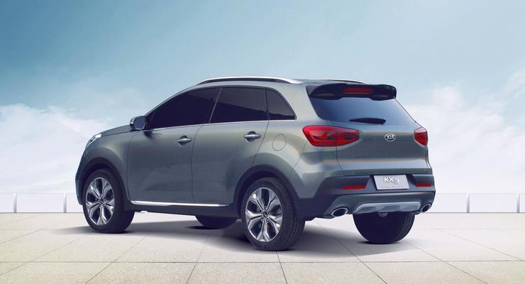 В Китае представили концепт-кар Kia KX3 (фото)