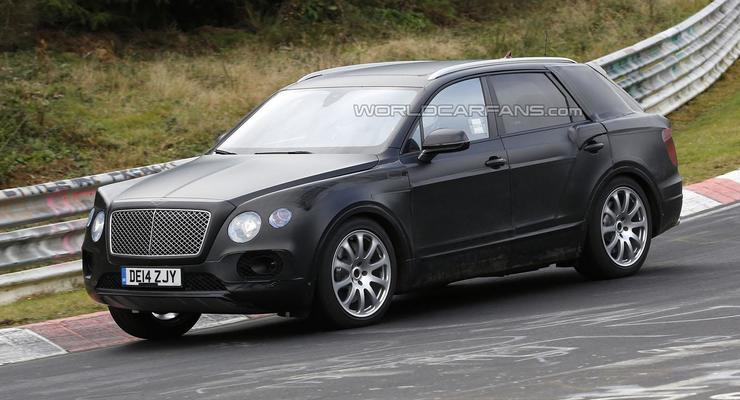 Внедорожнику Bentley выбрали имя (видео)