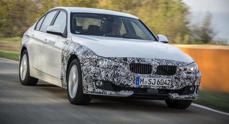 """BMW представила """"заряженный"""" гибрид"""