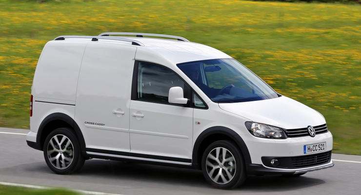 Британцы назвали Volkswagen Caddy лучшим мини-фургоном года