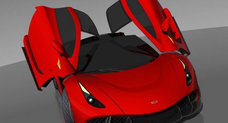 Запорожские дизайнеры обещают в 2015 году концепт украинского суперкара (фото)