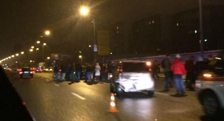 В аварии на проспекте Бажана в Киеве обвинили пьяных прокуроров