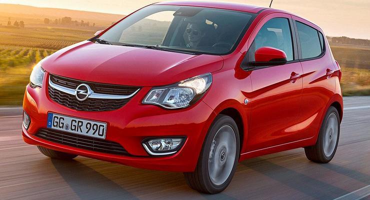 Opel представил свою самую маленькую модель (фото)