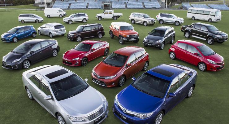 Итоги ноября: Тойота остается лидером украинского рынка новых авто