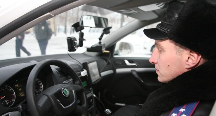 ГАИ пообещала оснастить все свои машины видеорегистраторами до конца года