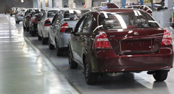 Украинский автопром в ноябре сократил производство вдвое