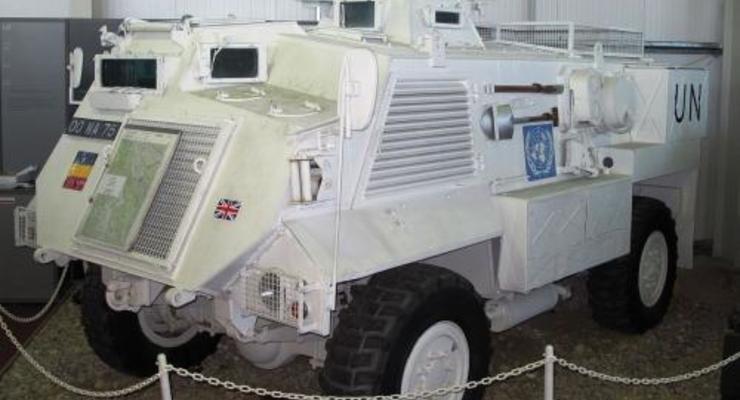 Украинская армия усилится британскими броневиками Saxon