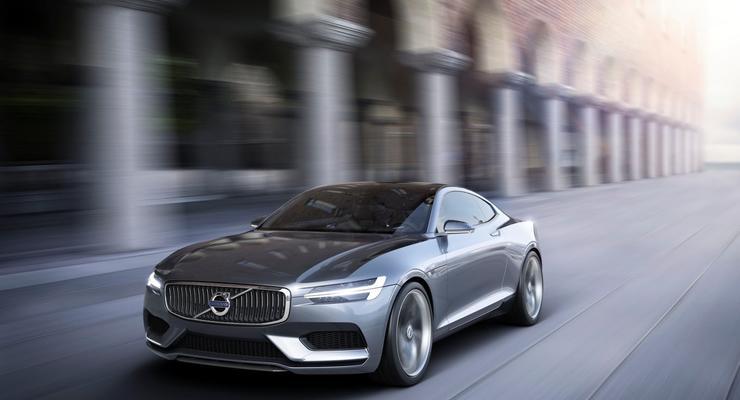 Компания Вольво отложила выпуск большого Concept Coupe (фото)