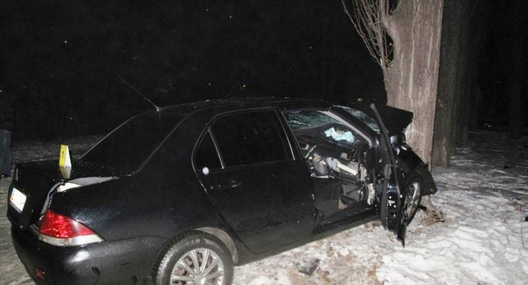 В Киеве в ДТП погибли три человека (видео)