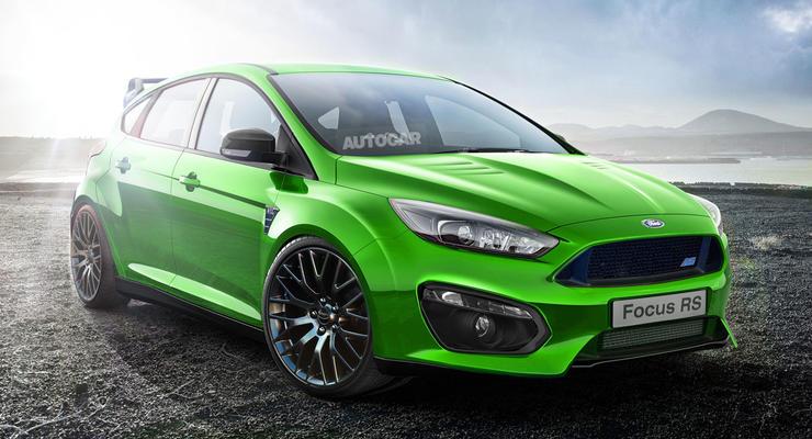 Компания Ford анонсировала появление нового Focus RS