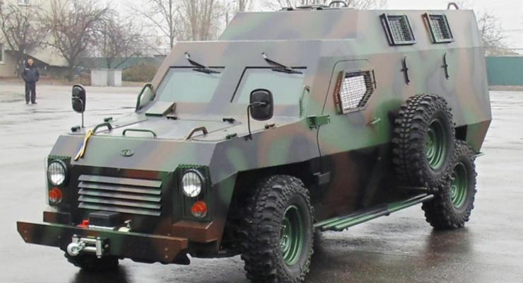 Корпорация Богдан представила новый бронеавтомобиль (фото)