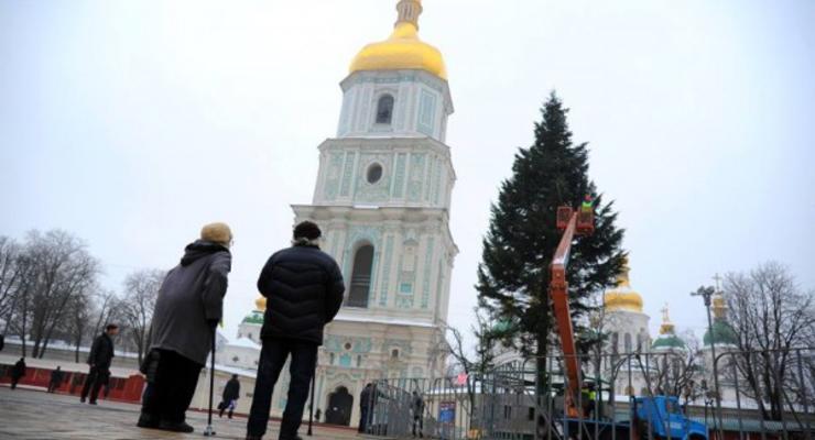 На Новый Год в центре Киева ограничат движение