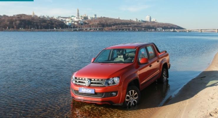Волчий пикап: тест-драйв Volkswagen Amarok (видео)