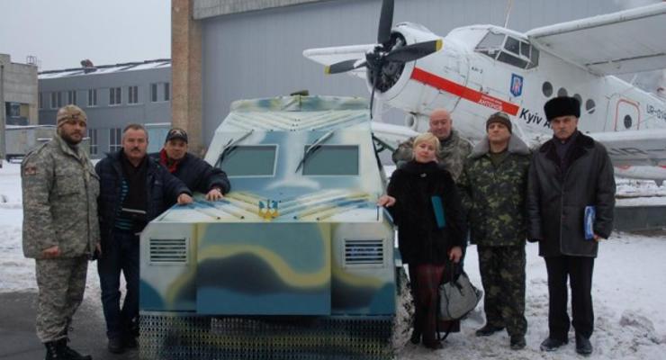 Киевский авиазавод начал делать бронеавтомобили