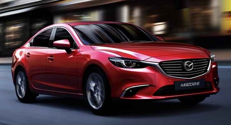 Mazda увеличила продажи в Украине на фоне падения рынка