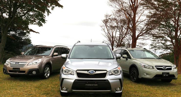 Subaru покажет три новых концепта на Токийском автосалоне