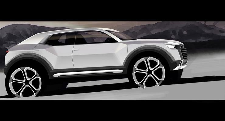 Кроссовер Audi Q1 построят на базе Volkswagen