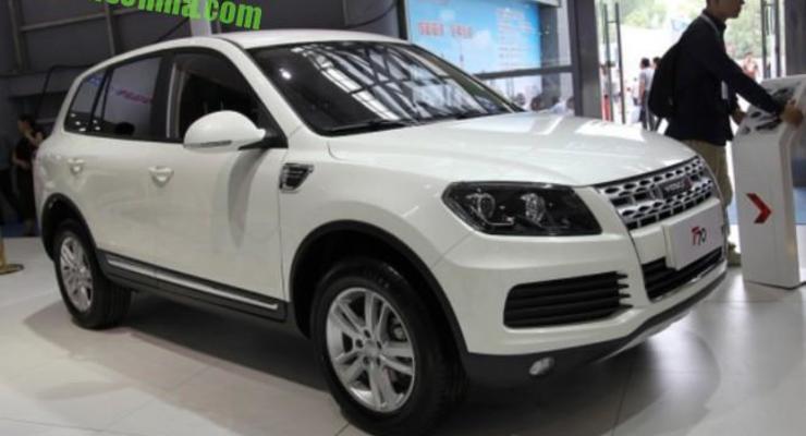 """Китайцы выпускают на рынок """"близнеца"""" Volkswagen Touareg (фото)"""