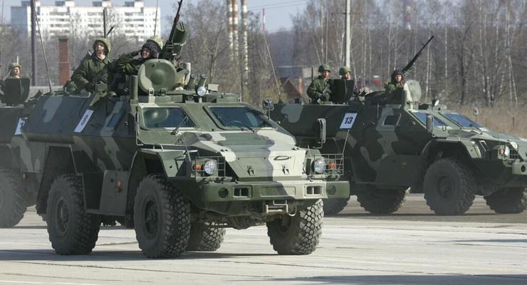 В Луганске испытали бронетехнику, которая в Украине не производится