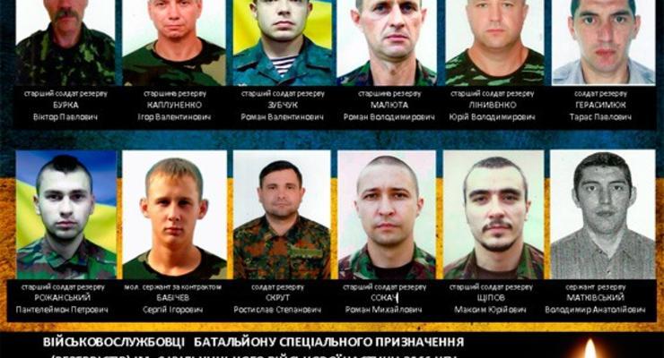 Стали известны имена бойцов Нацгвардии, погибших в аварии под Артемовском