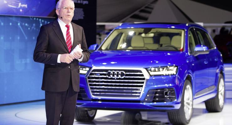 В Детройте официально представили новую Audi Q7 (фото)