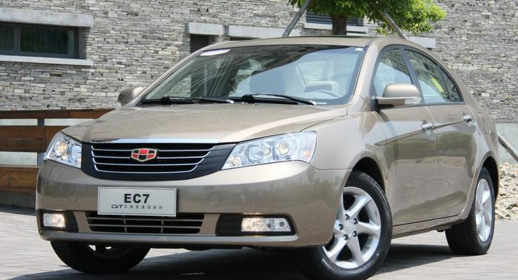 Самым продаваемым новым авто в Украине стал Geely