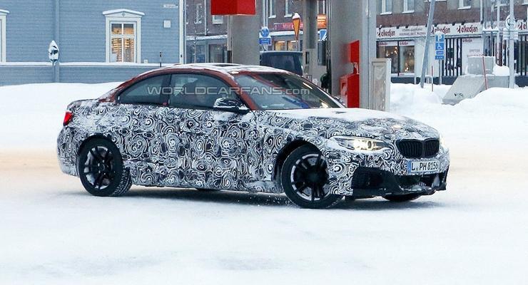 BMW тестирует новый M2 Coupe (фото)