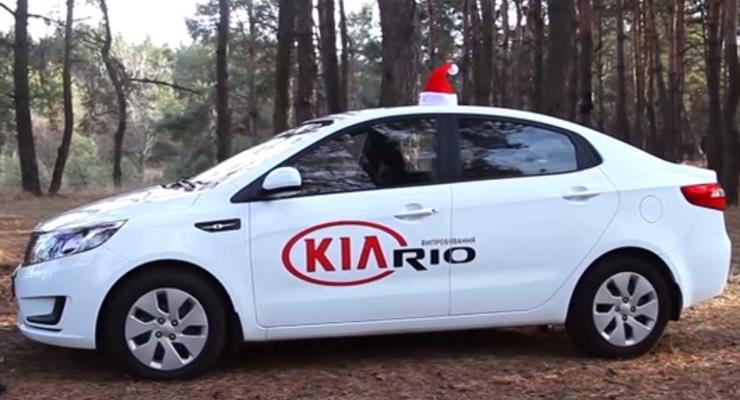 Практичный кореец: тест-драйв Kia Rio (видео)